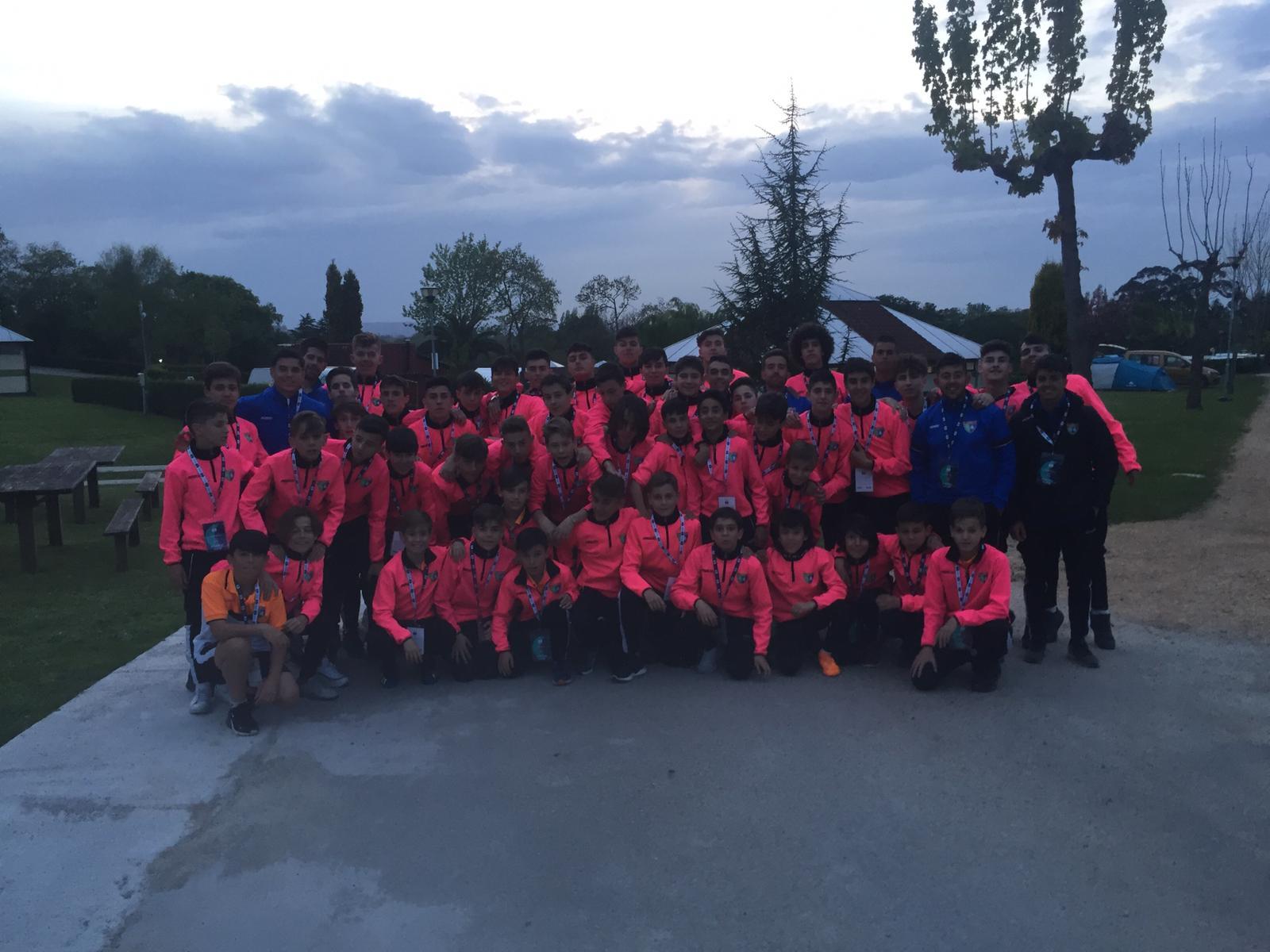 Gran experiencia para nuestros chicos en la Oviedo Cup
