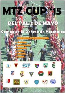 Cartel torneo del puente de mayo en la Dehesa de Moratalaz