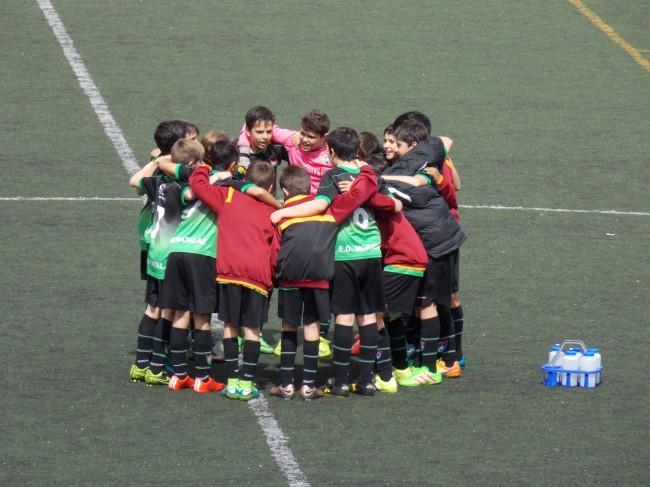 Foto del partido de liga EDM Alevín B - Palestra Atenea B