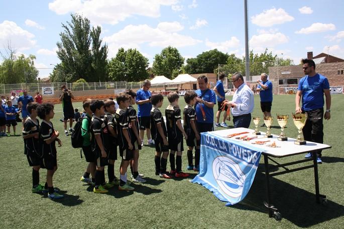 El Benjamín A queda cuarto en el torneo de Arganda
