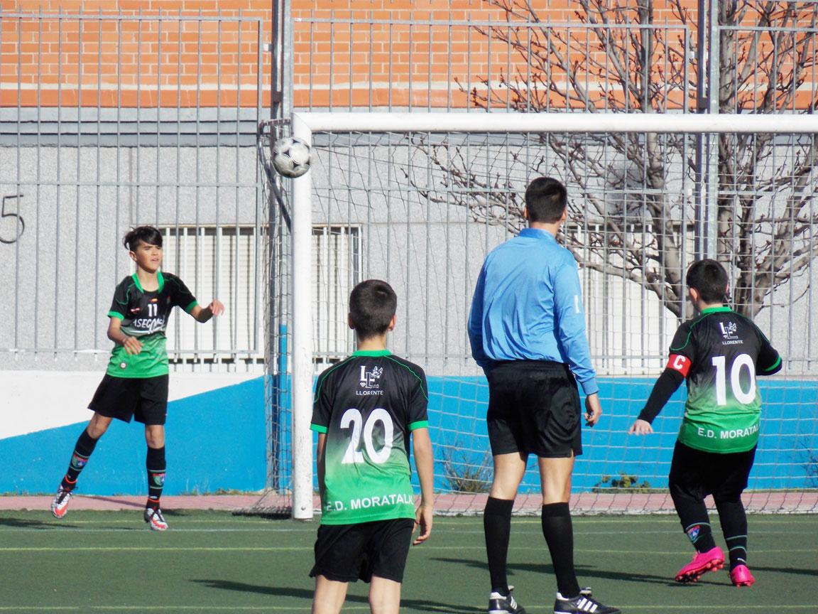Crónica y fotos del partido de liga EDM San Blas C 3 – 2 EDM Alevín B