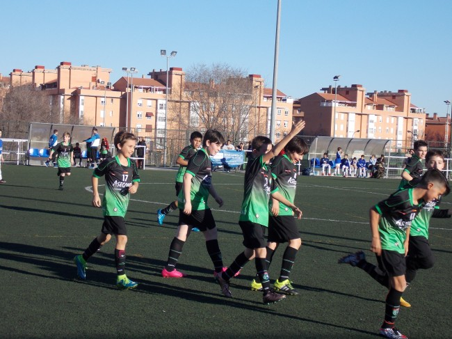 Foto del partido de liga EDM Alevín B - Ford