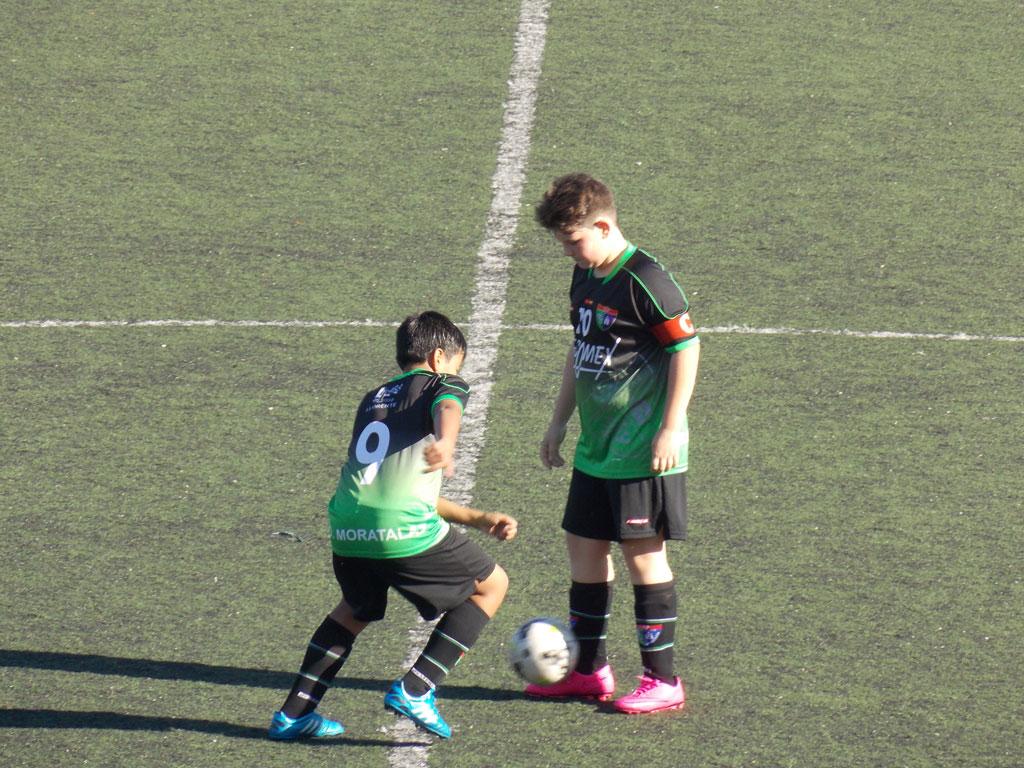 Crónica y fotos del partido de liga EDM Alevín B 1 – 1 EDM San Blas C