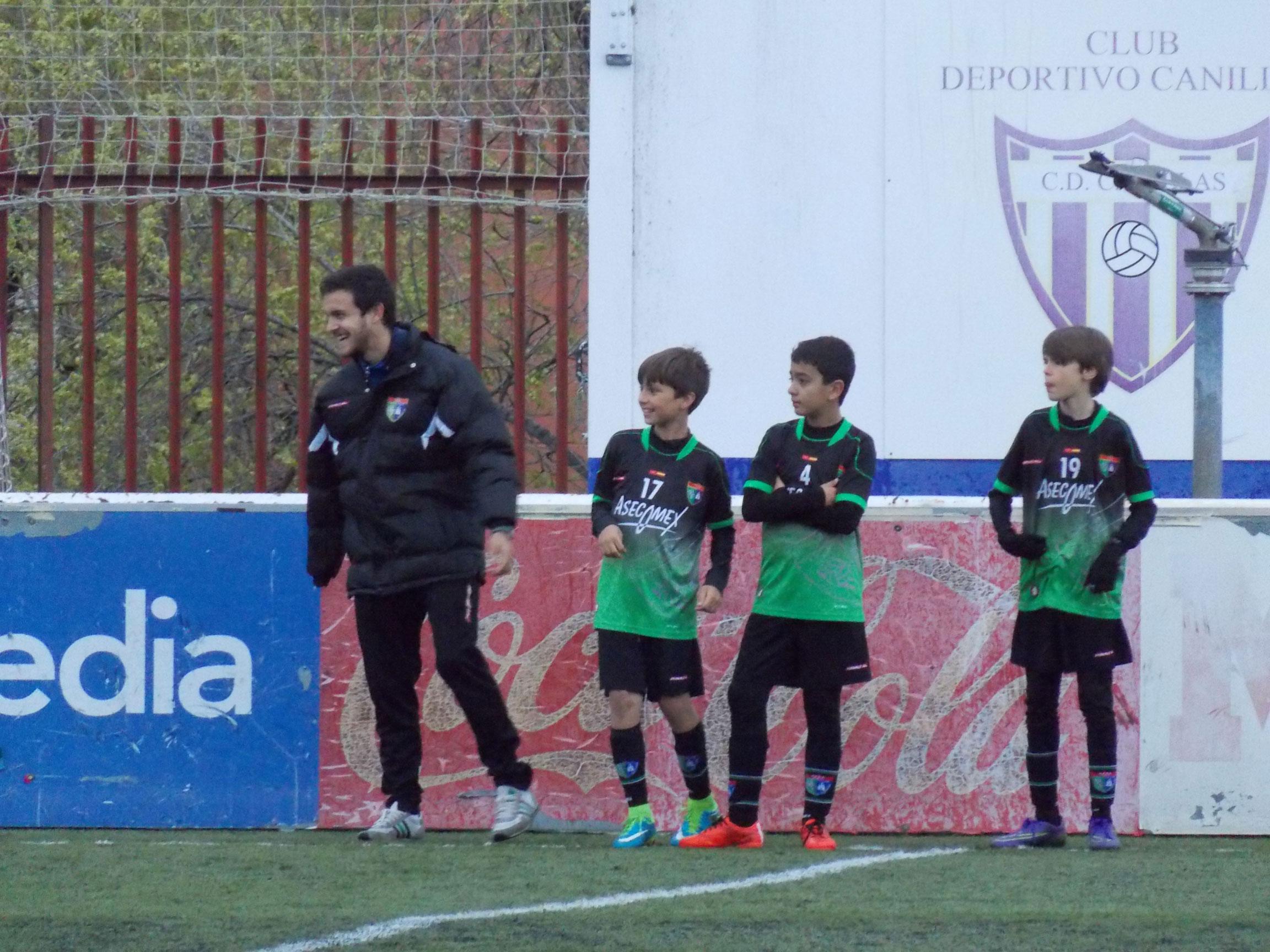 Crónica y fotos del partido de liga CD Canillas D 0 – 0 EDM Alevín B