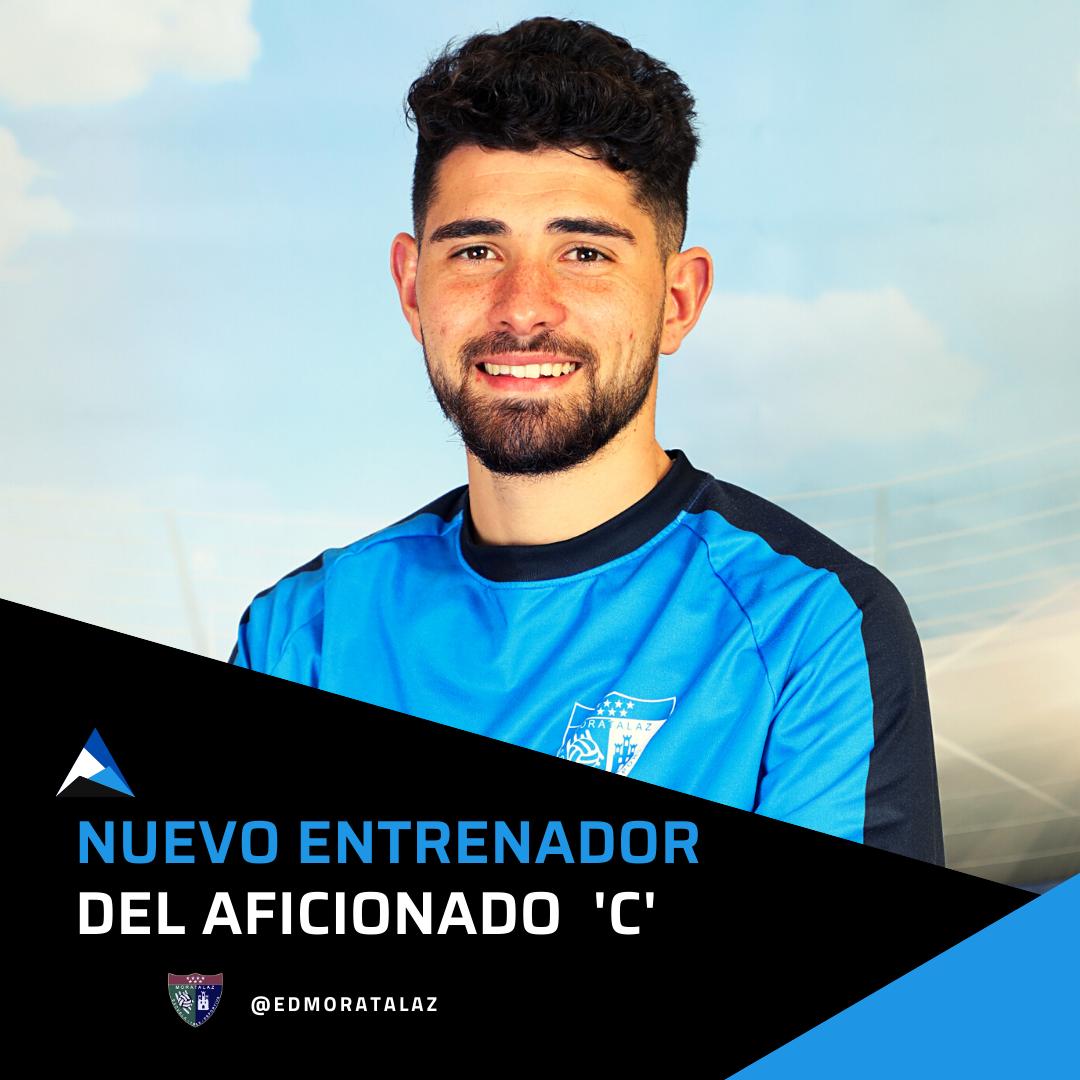 Adrián Algora, nuevo entrenador del Aficionado C