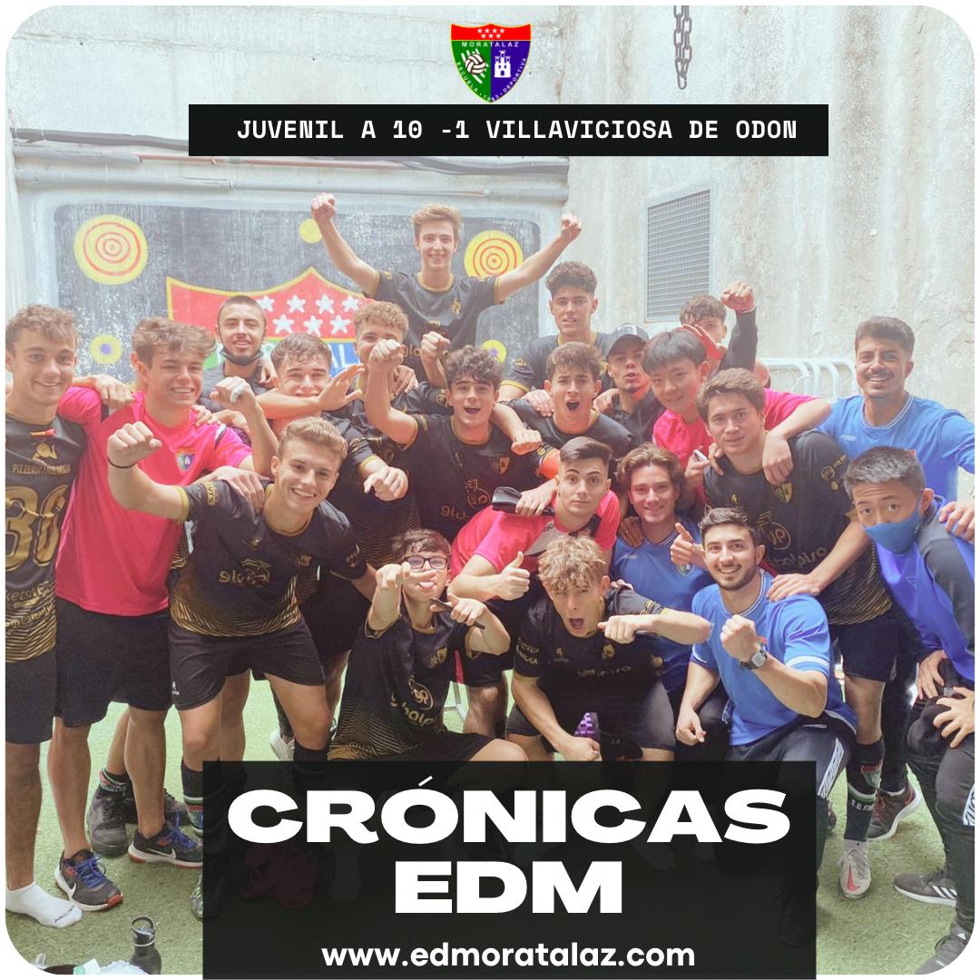 Crónica | Juvenil A 10-1 Villaviciosa de Odón