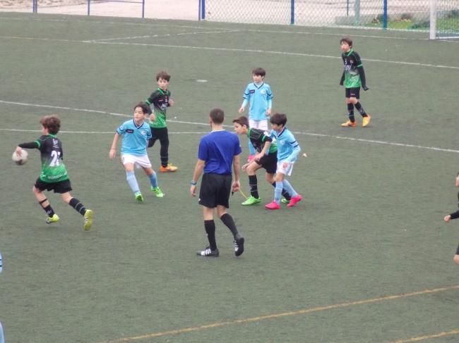 Foto del partido de liga EDM Aleví B 0 - 1 Dosa B
