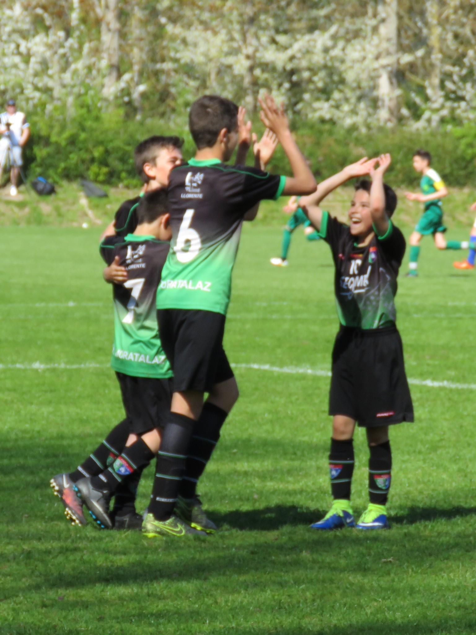 Fotos de la participación del Infantil B en el torneo organizado por el BSF de Copenhague