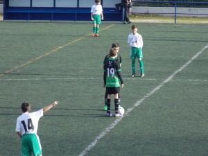 Foto del partido de liga EDM Alevín B - AFE B