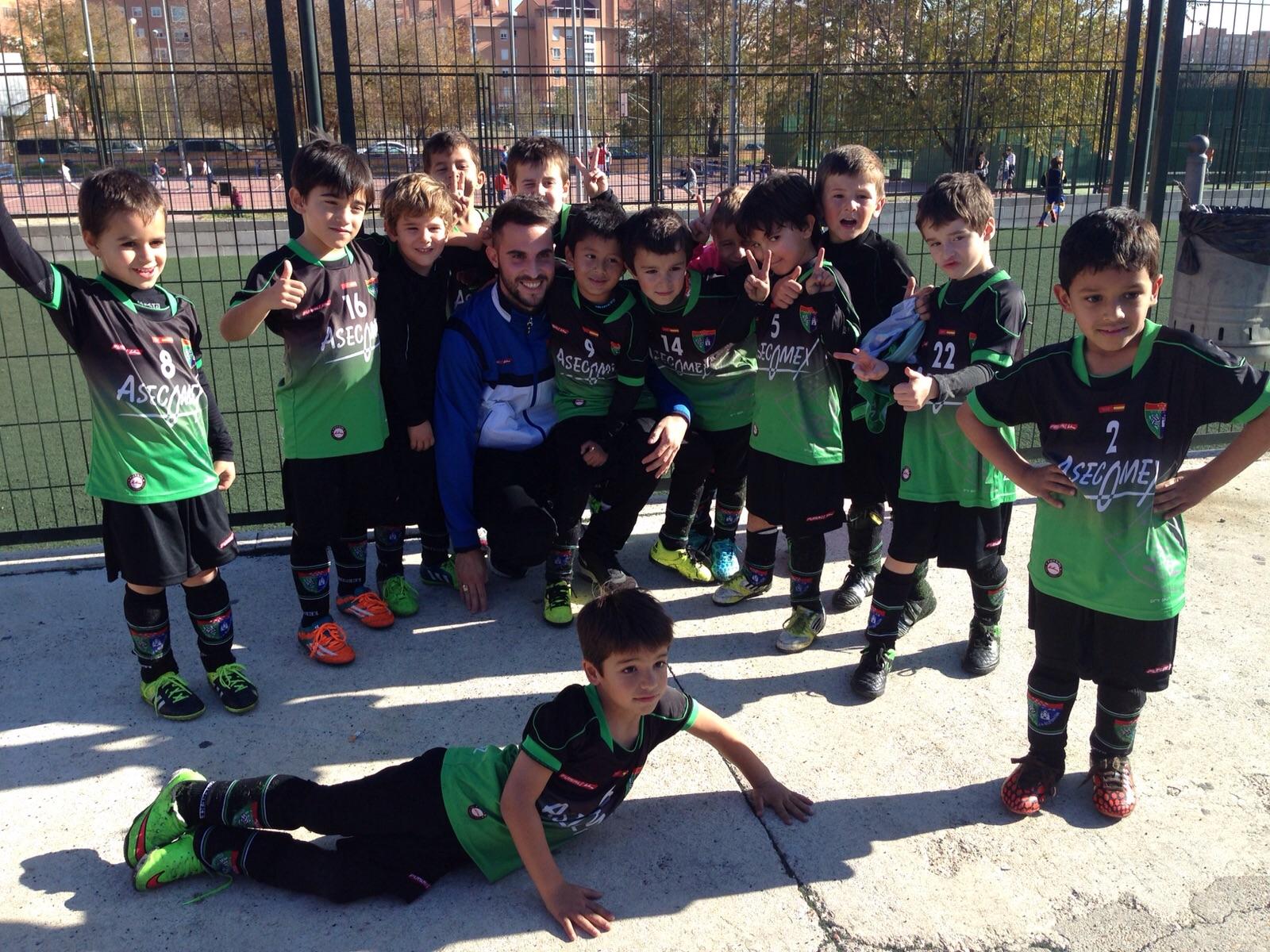 Veinte equipos de la EDM participaron en la I Fútbol In Cup
