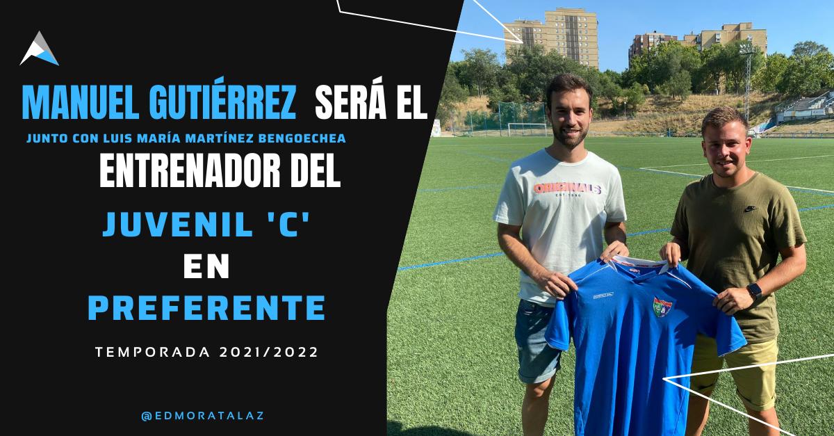 Manuel Gutiérrez será el entrenador del Juvenil C la próxima temporada