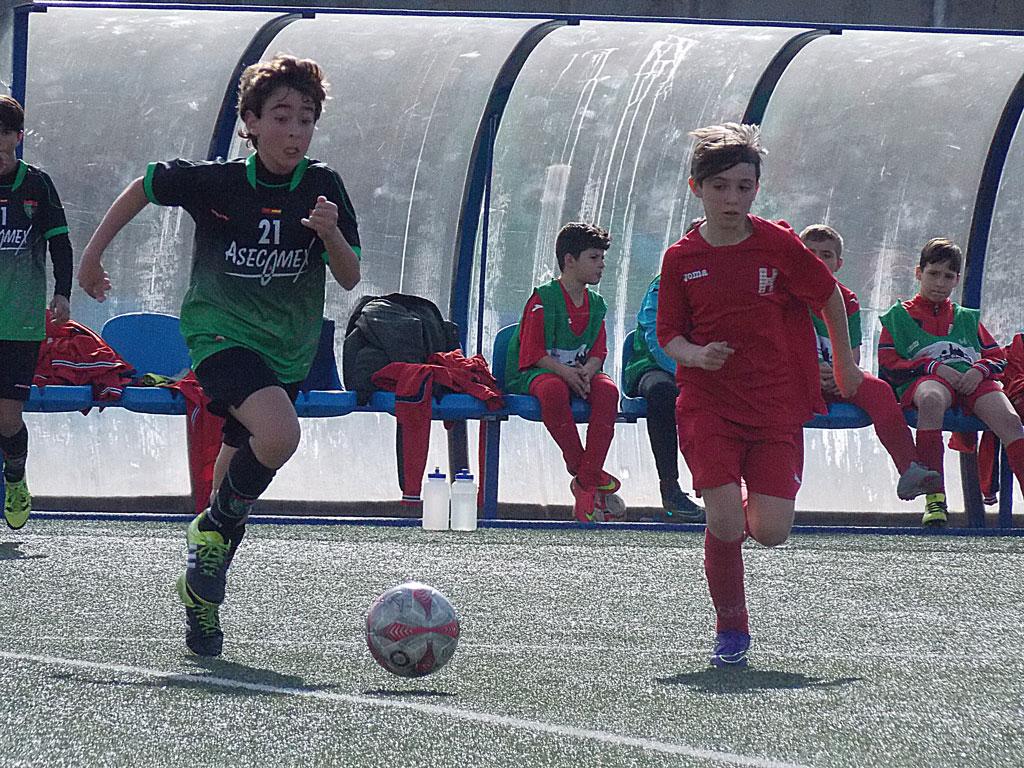 Crónica y fotos del partido de liga CPH San Blas A 0 – 1 EDM Alevín B