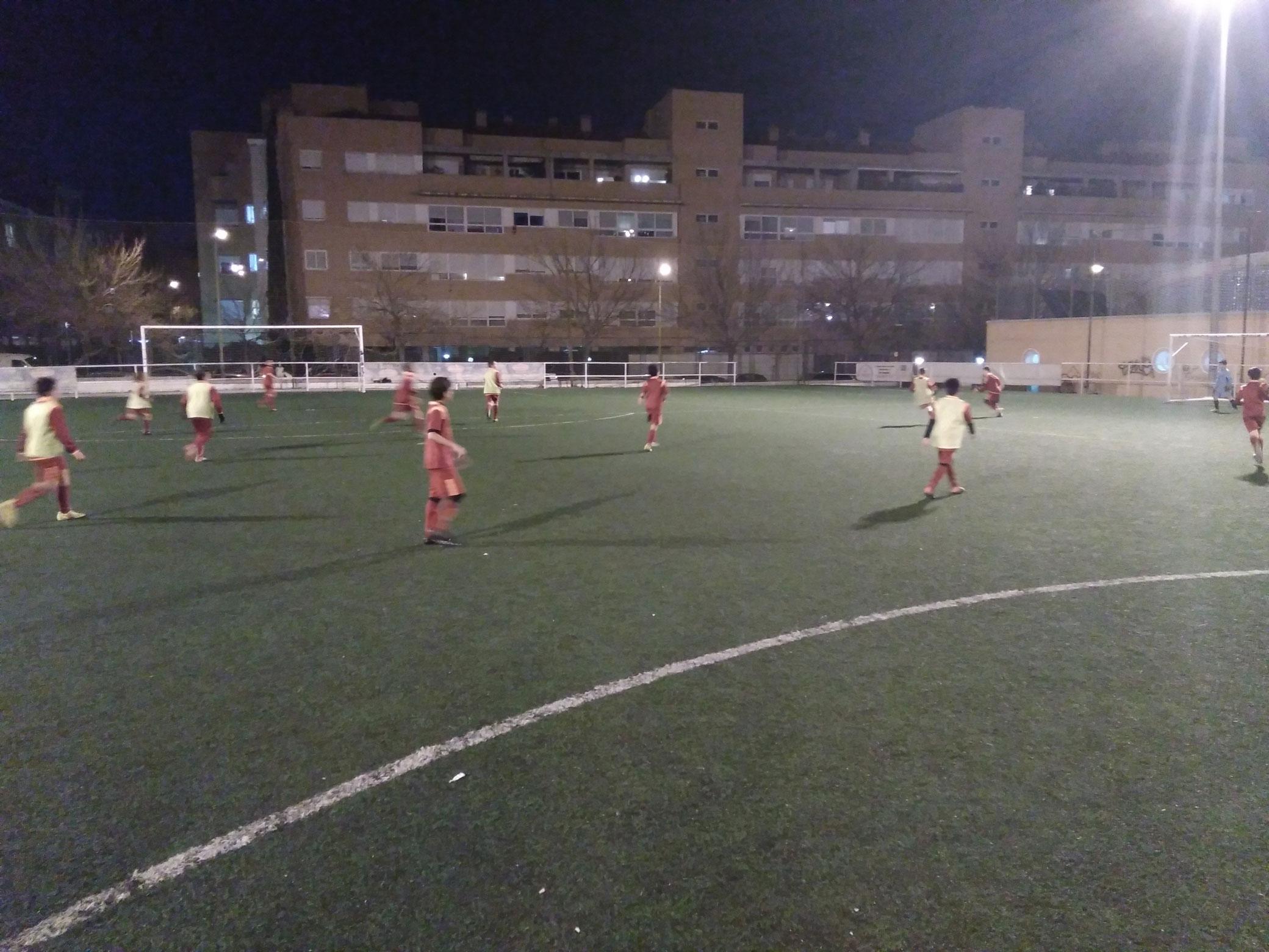 El Alevín B de fútbol 7 juega este sábado a las 10:00