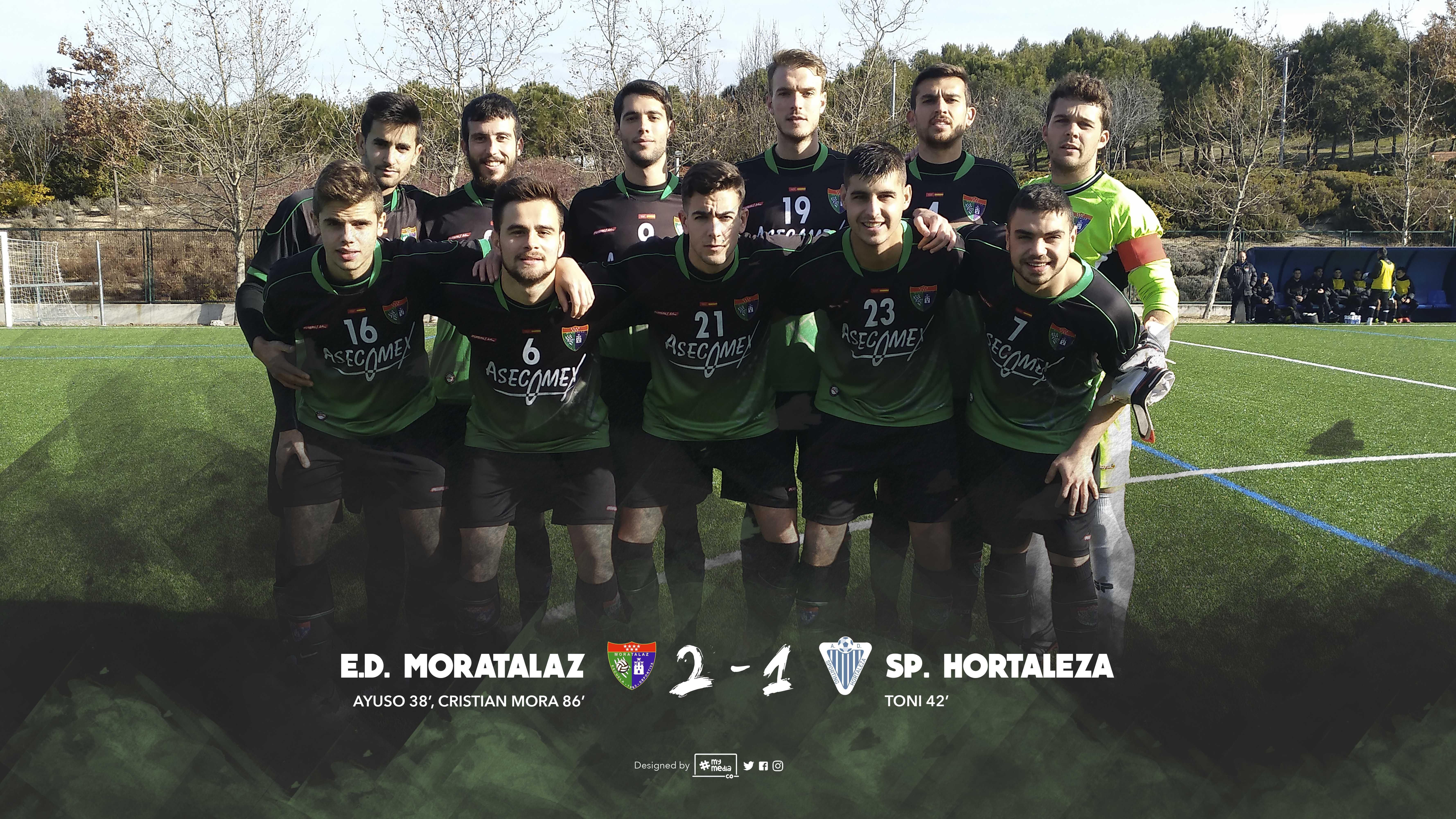 Crónica y fotos del partido Primer Equipo 2-1 Sporting de Hortaleza A