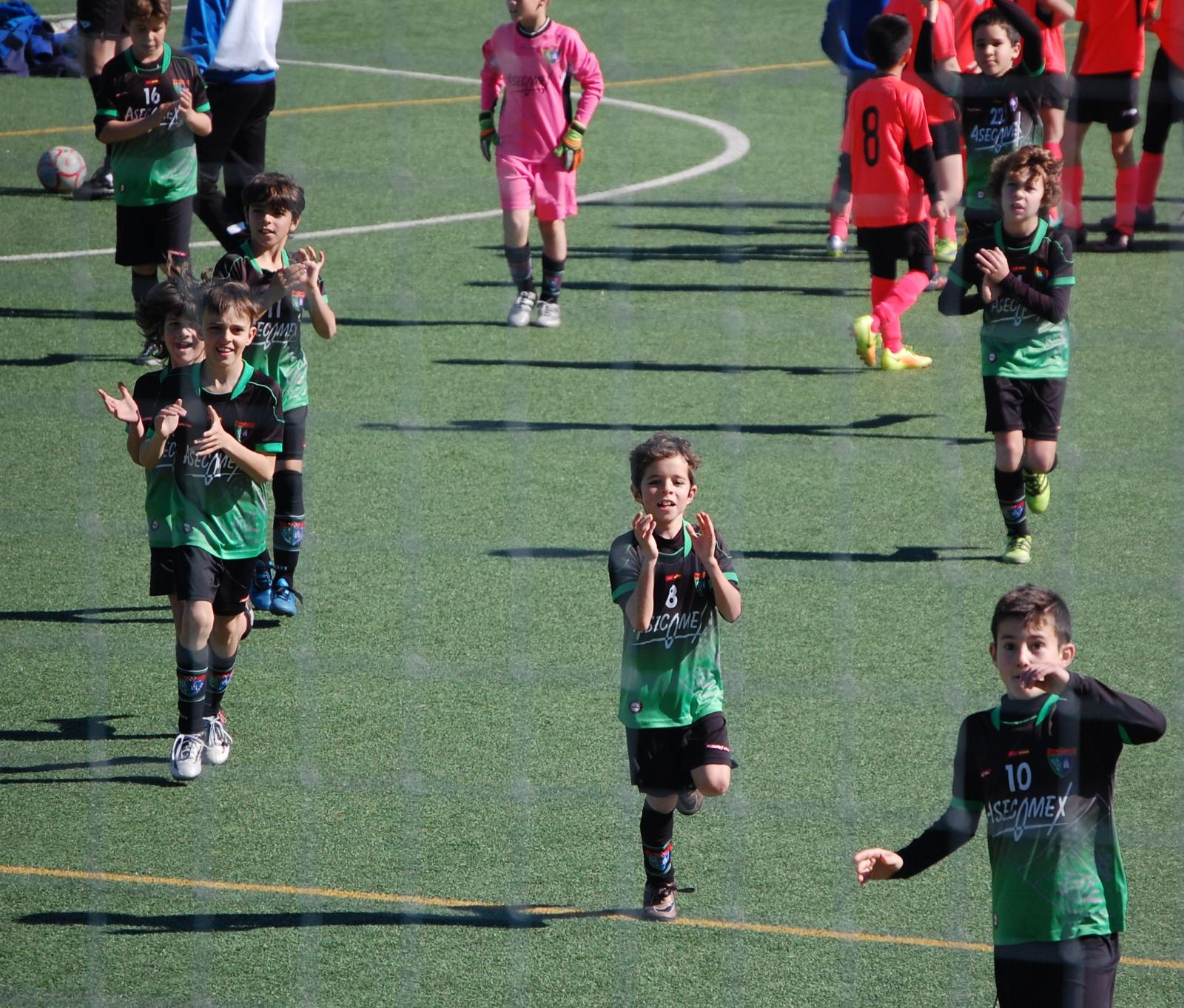Crónica del partido Benjamín A 3-0 AD Sporting Hortaleza A