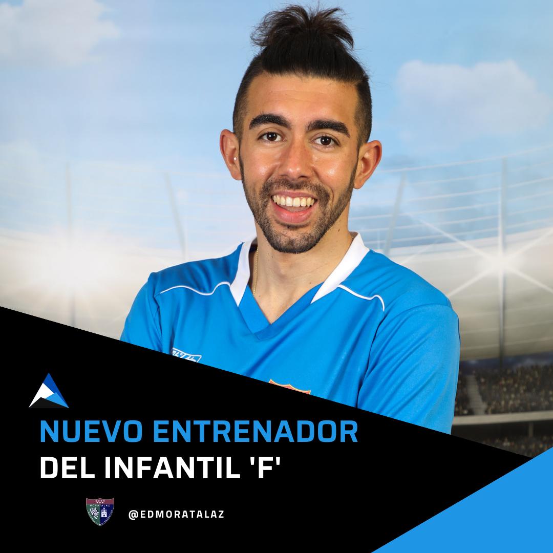 Iván Resino, nuevo entrenador del Infantil F