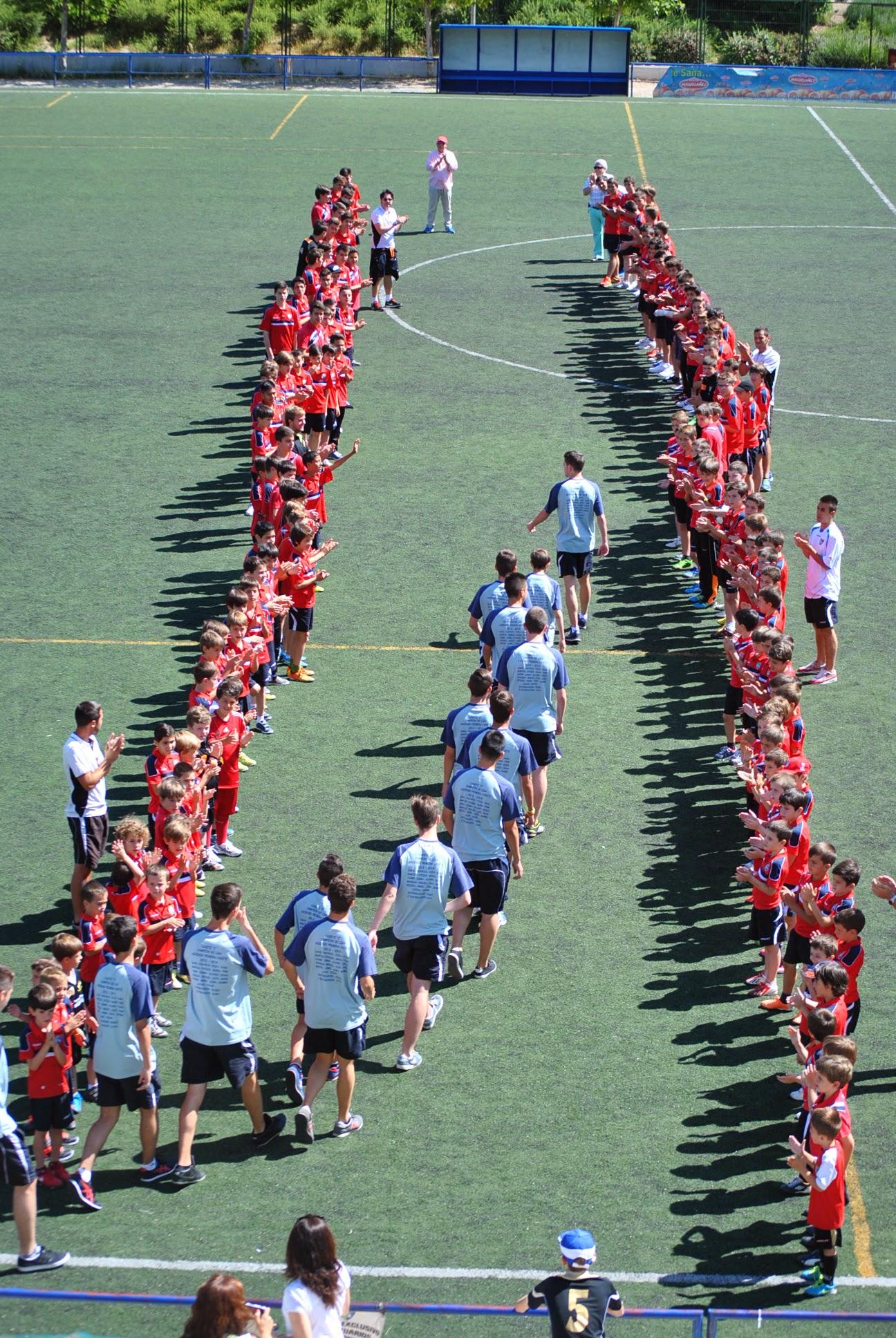 Homenaje a la cantera de la Escuela, este domingo en la Dehesa