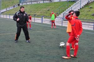 Entrevista con Raúl León, entrenador del Infantil A de la EDM