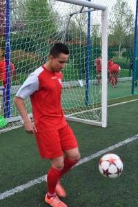 Entrevista con Cristian Zapata, jugador de Aficionado B que ha debutado con el primer equipo de la EDM