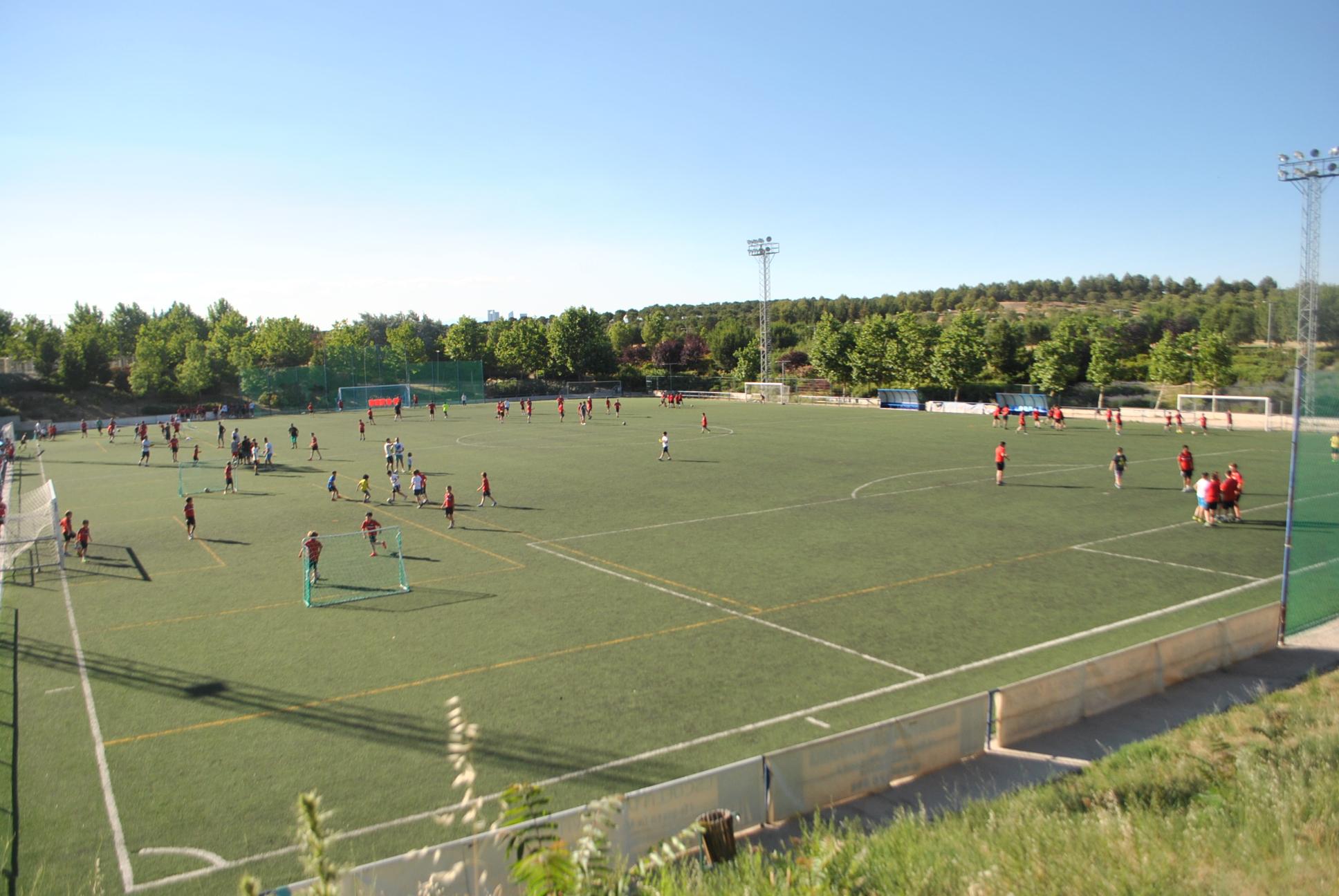La Dehesa acoge pruebas para futbolistas que aspiran a jugar en Australia y Estados Unidos