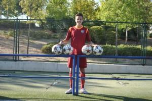 Entrevista con David Gómez, autor de cuatro goles ante el Águilas