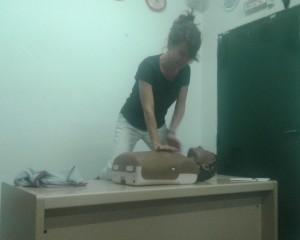 Los entrenadores de la EDM se forman en técnicas de reanimación