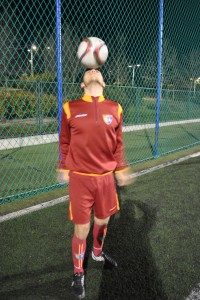 Entrevista con Alonso Gallego, jugador del Primer Equipo