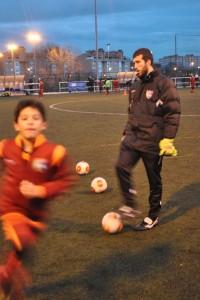 Entrevista con Rubén Ayuso, jugador del Primer Equipo y entrenador del Alevín B F7