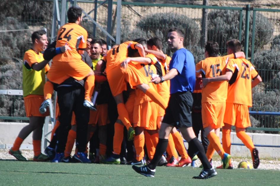 Crónica y fotos del partido de liga EDM Primer Equipo 2 – 0 Alcobendas-Levitt