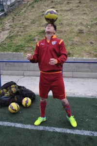 Entrevista con Aníbal Hernández, centrocampista del Primer Equipo