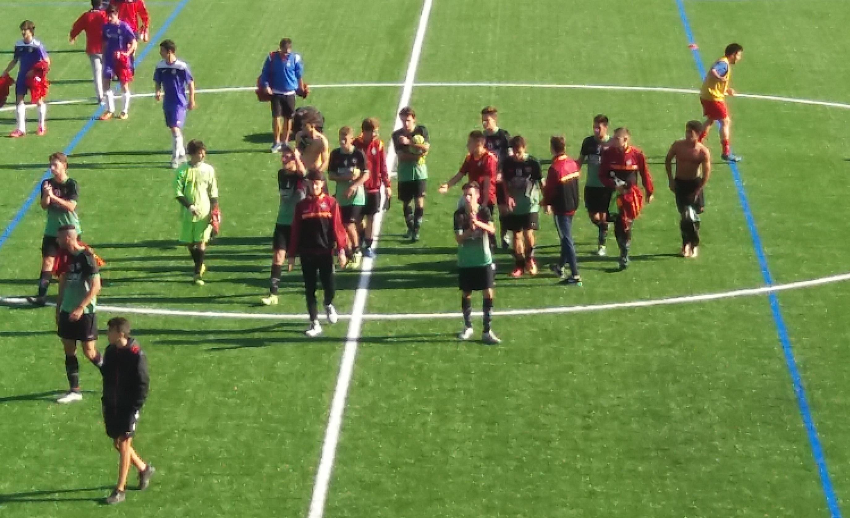 Crónica y fotos del partido de liga EDM Juvenil C 1 – 3 EF Concepción B