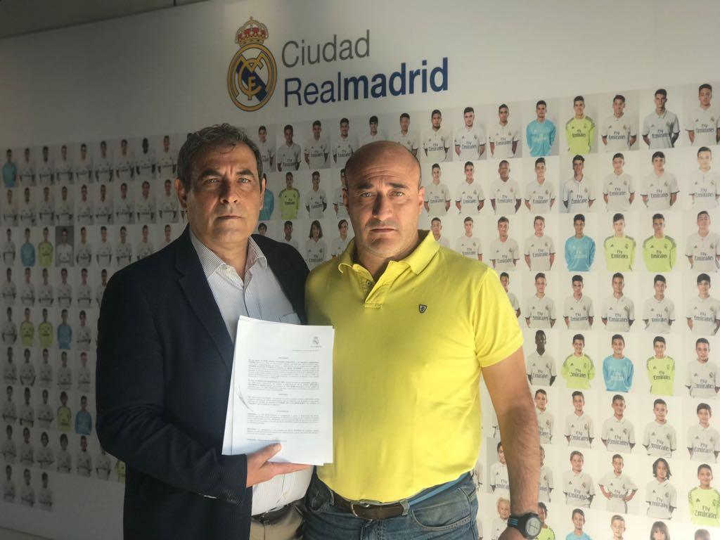 La EDM renueva su convenio de colaboración con el Real Madrid CF