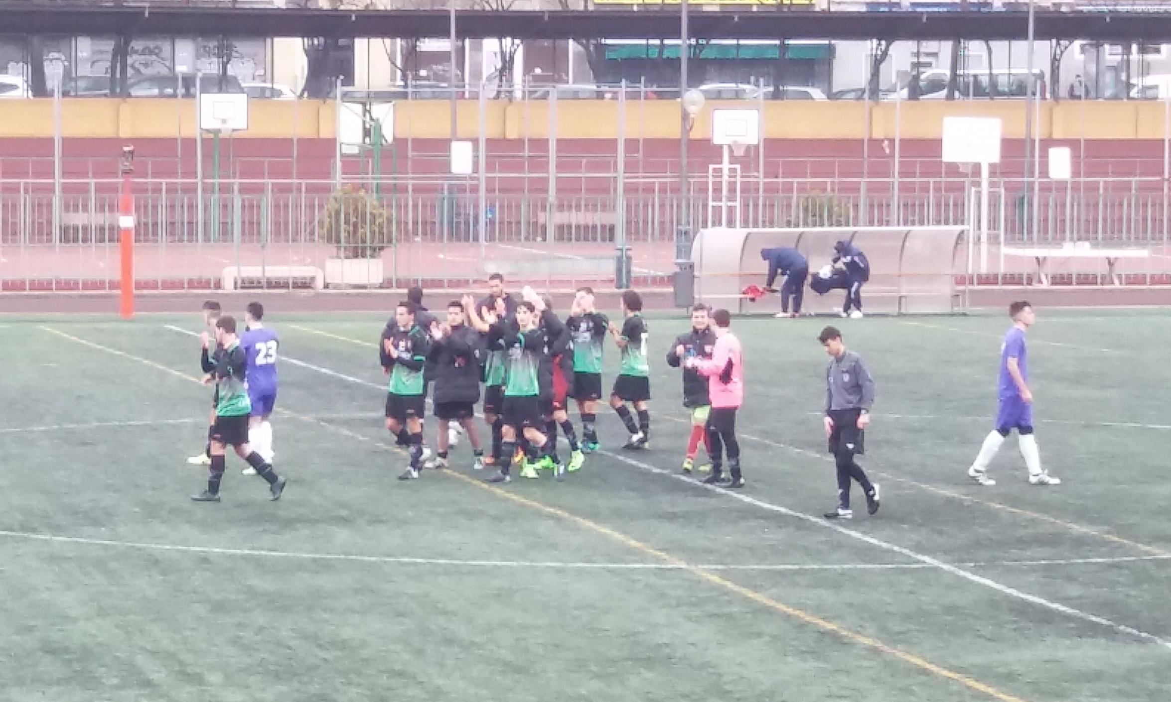 Crónica y fotos del partido EF Concepción B 0-1 Juvenil C