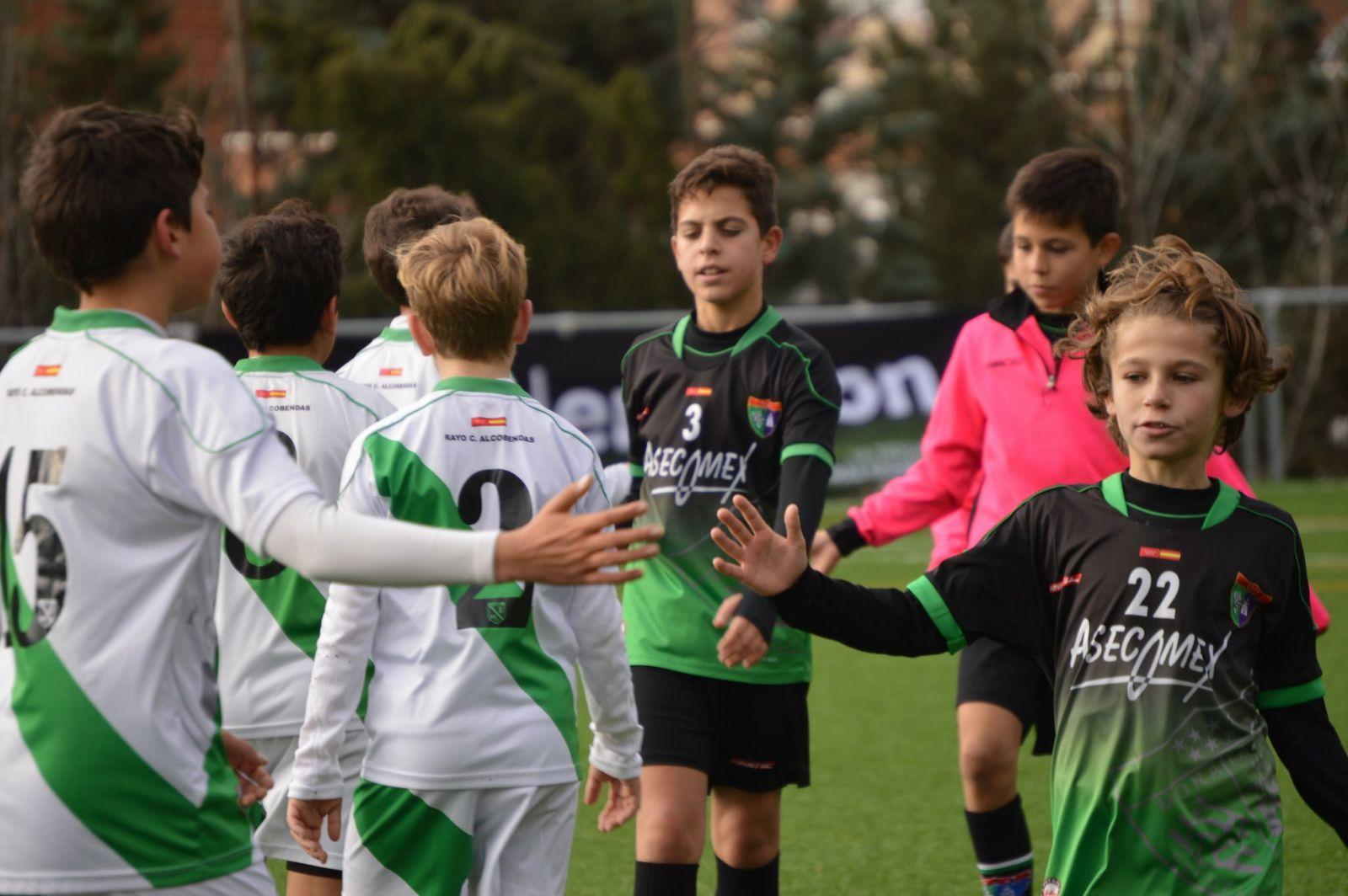 El Alevín A disputó la fase final del Torneo Madrid Total Cup