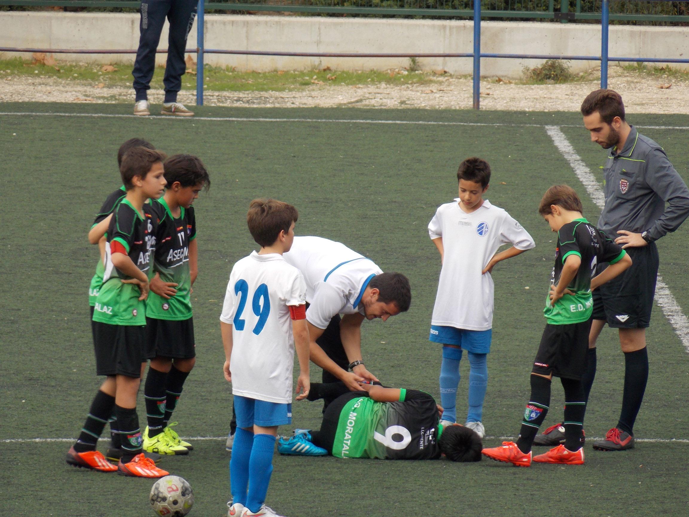 Crónica y fotos del partido de liga EDM Alevín B 1 – 1 CD Julián Marías