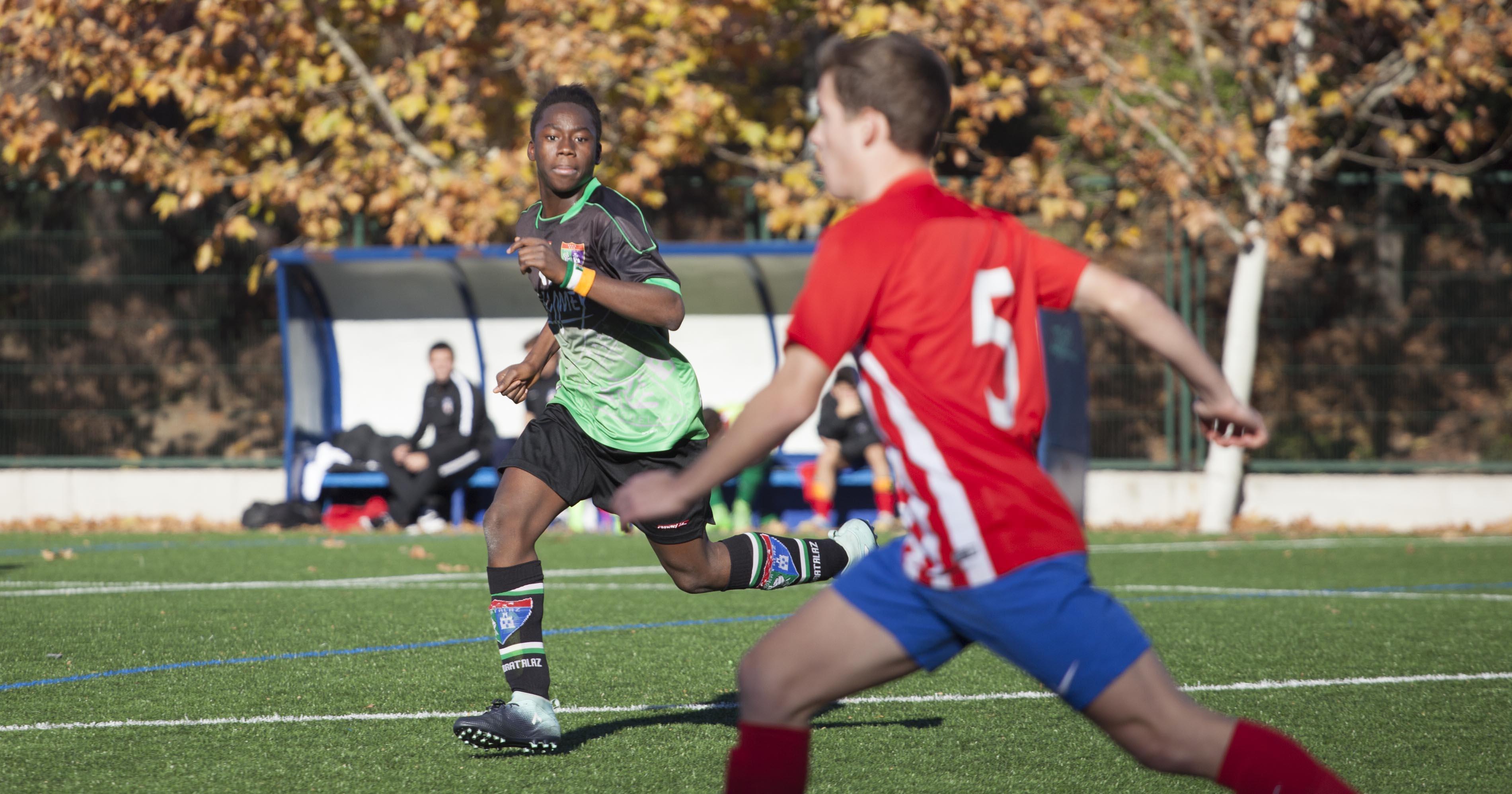 Fotos del partido Juvenil C 2-2 Atlético de Madrid C