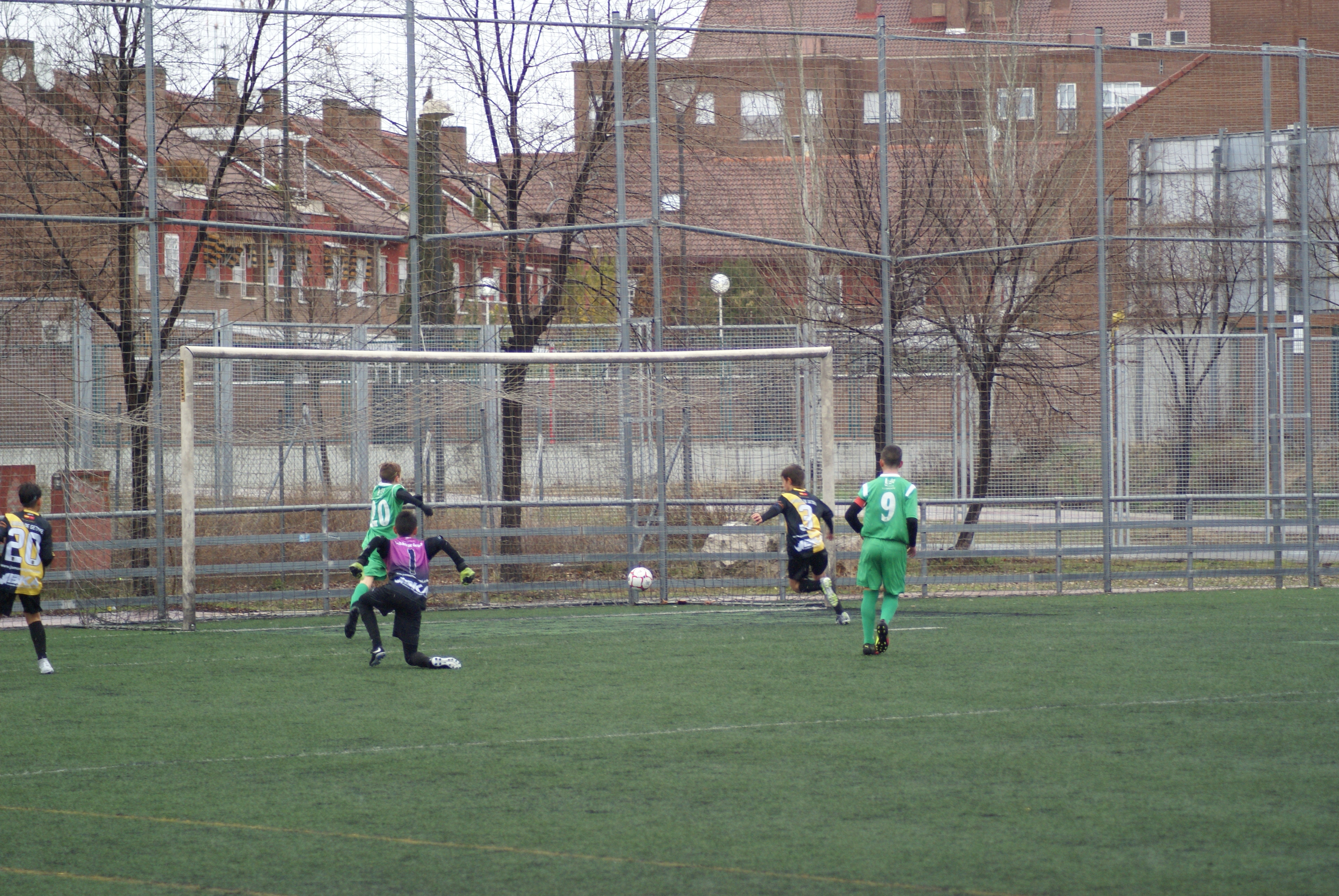 Fotos del partido Ciudad de Getafe Sport Club 1-5 Infantil A