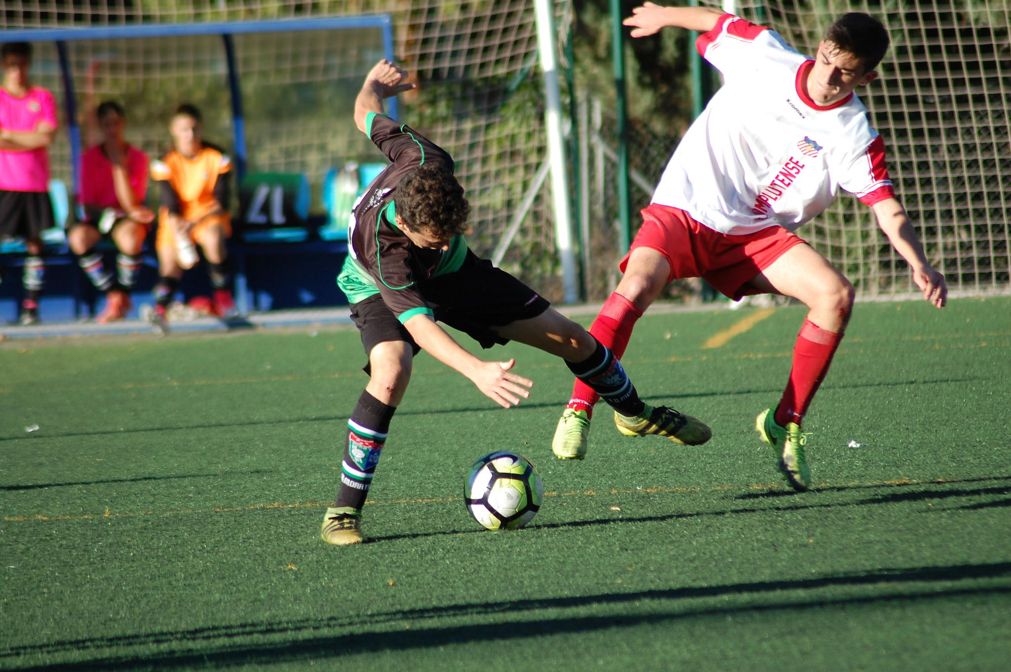 Fotos del partido AD Complutense Alcalá 4-0 Juvenil A