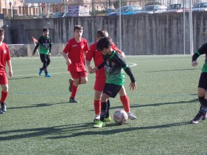 Foto partido liga CPH San Blas A - EDM Alevín B