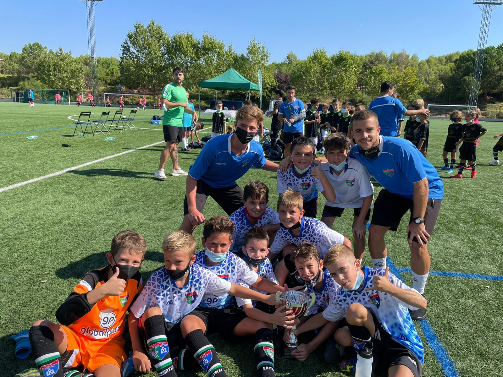 ¡Participación de los equipos EDM en la Madrid Youth Cup!
