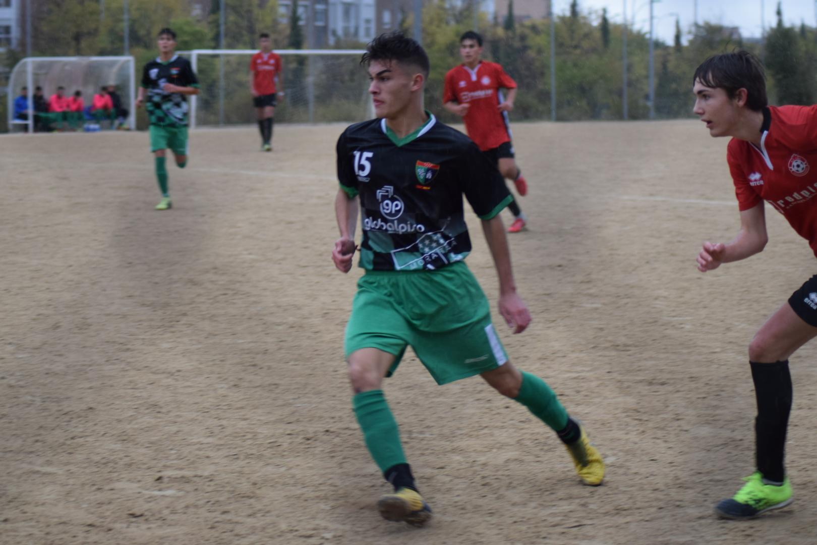 Fotogalería del partido AD Oña Sanchinarro 3-1 Juvenil C