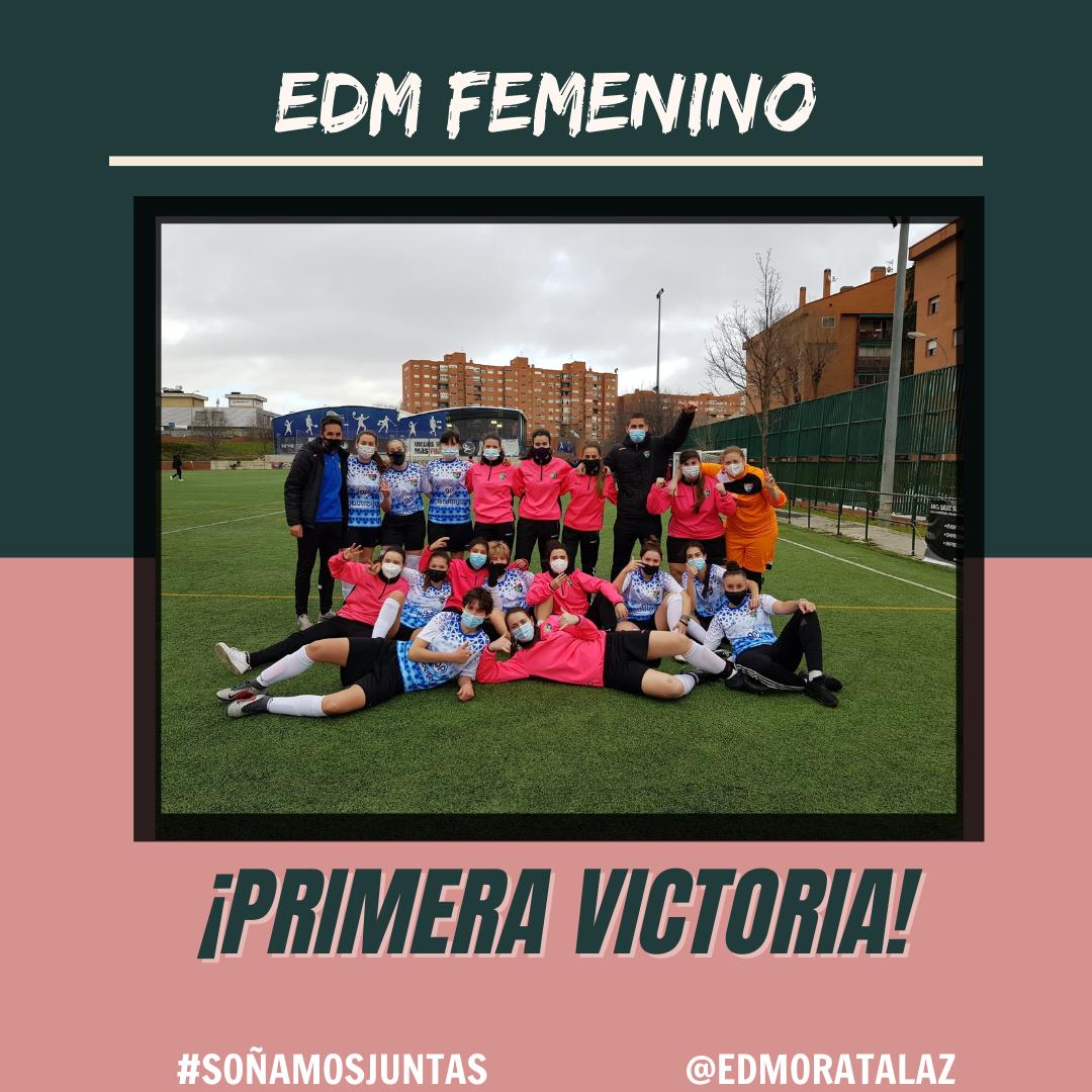 ¡Primera victoria en liga del Aficionado Femenino!
