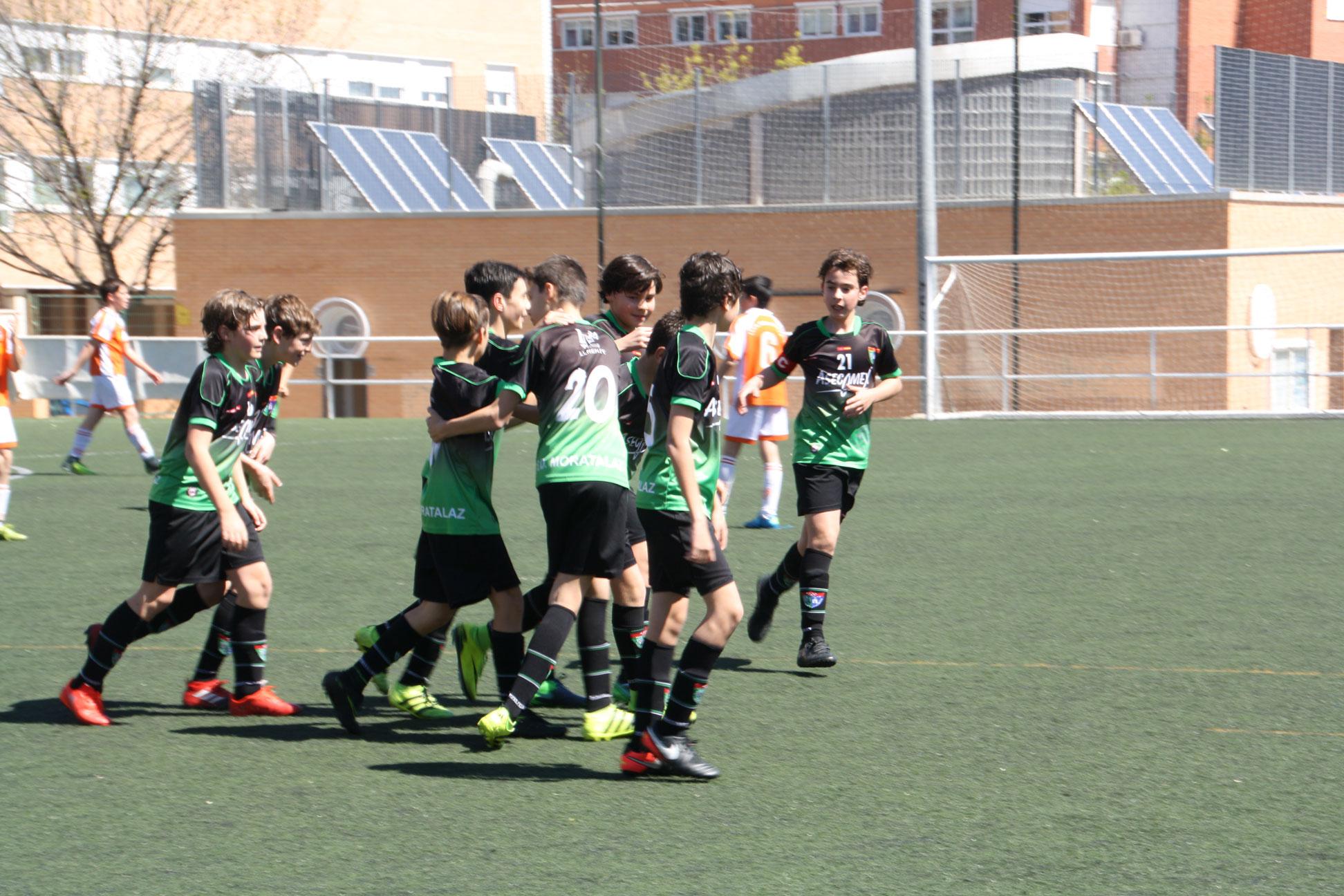 Fotos del partido Infantil E 3-0 CP Santa María del Pilar C