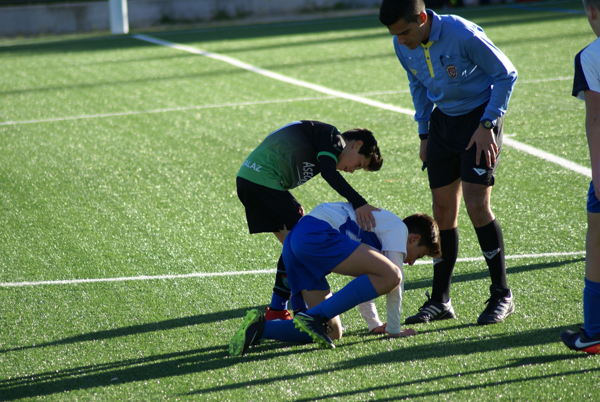 Fotos del partido Infantil C 0-0 CF Madrid Río A