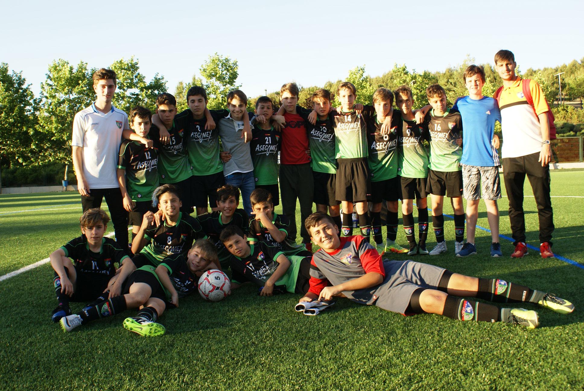 Fotos del partido Infantil C 5-1 Villaverde Bajo