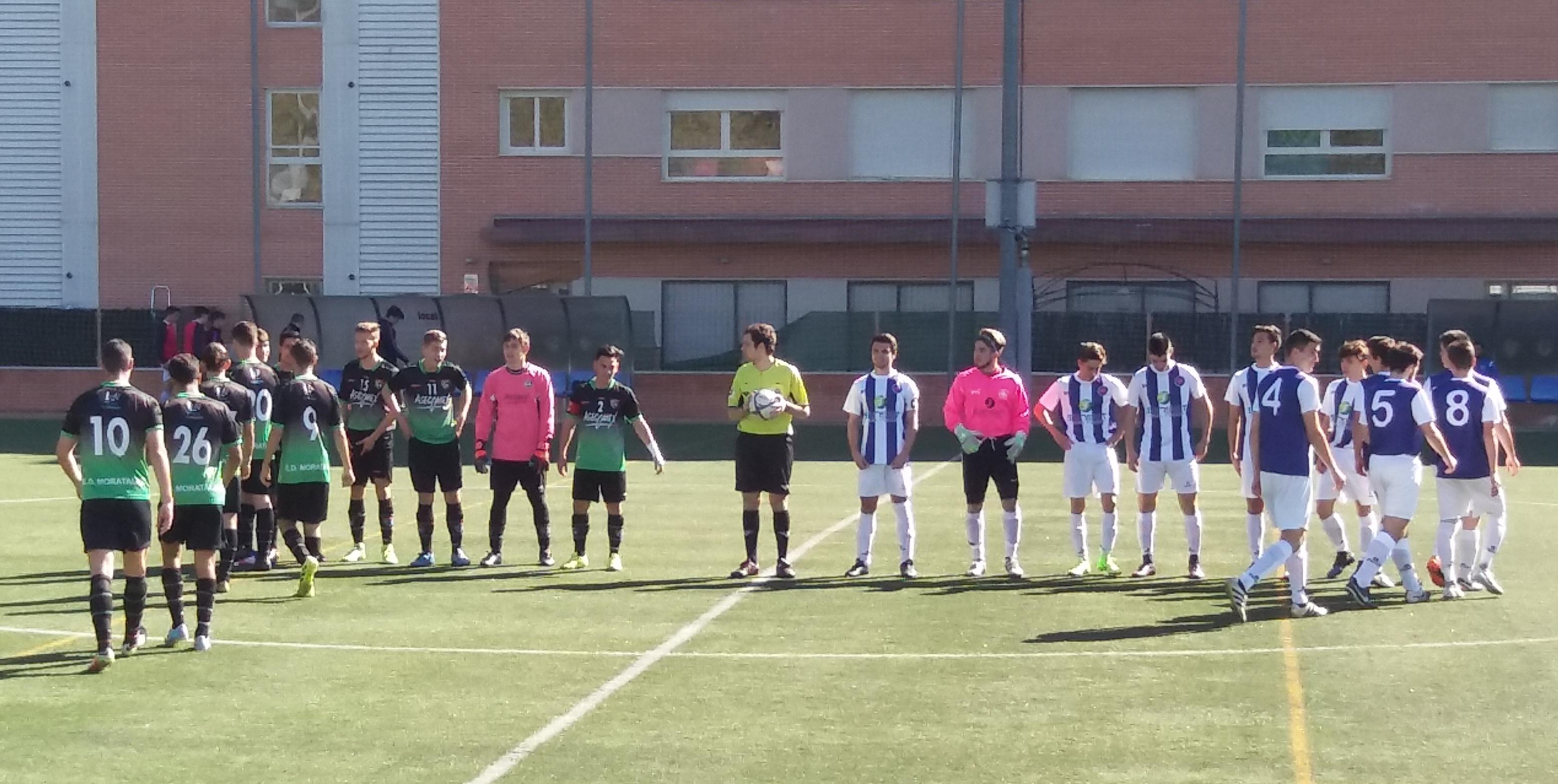 Crónica y fotos del partido Alameda de Osuna EF C 3-2 Juvenil C