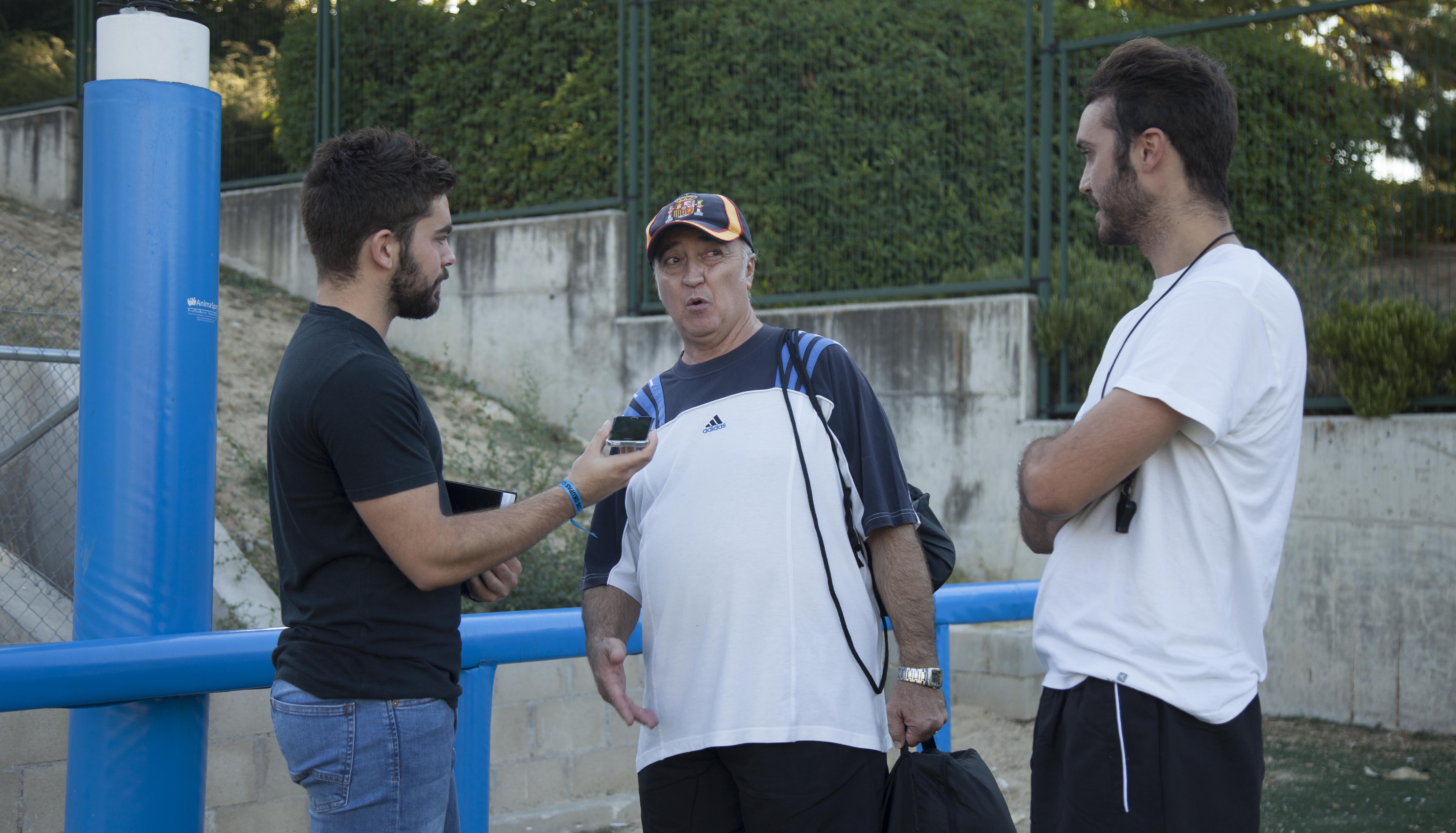 """Cristóbal y Sergio Vega: """"La relación padre-hijo que tenemos como entrenadores es muy sana"""""""