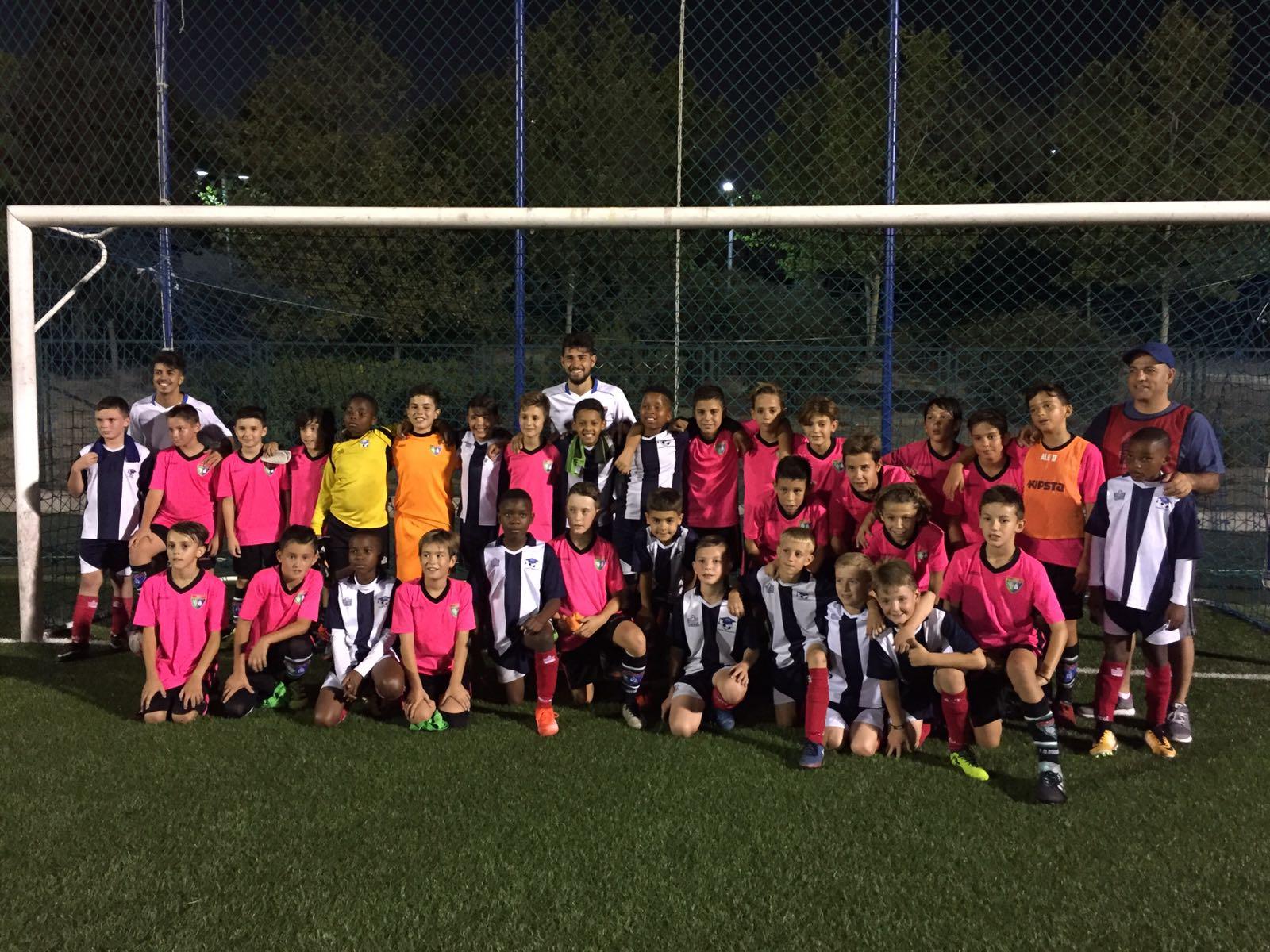 Fotos del partido amistoso Alevín A vs Education Through Soccer