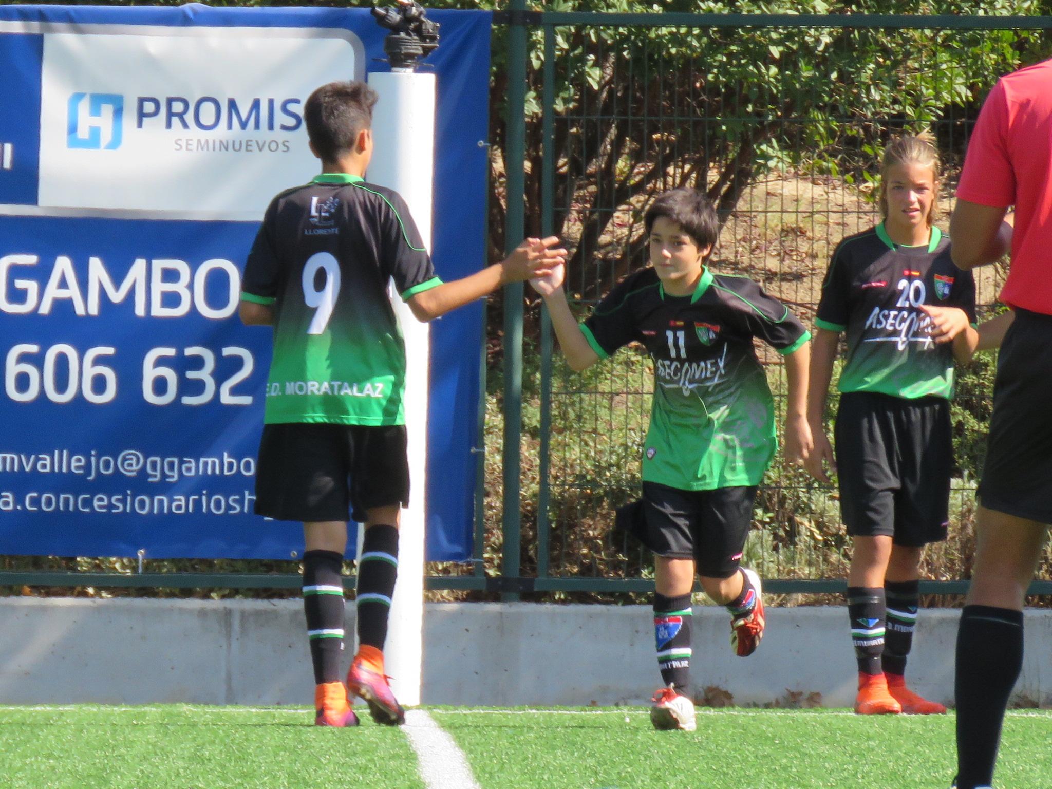 Fotos del partido de pretemporada Cadete B – CD Leganés