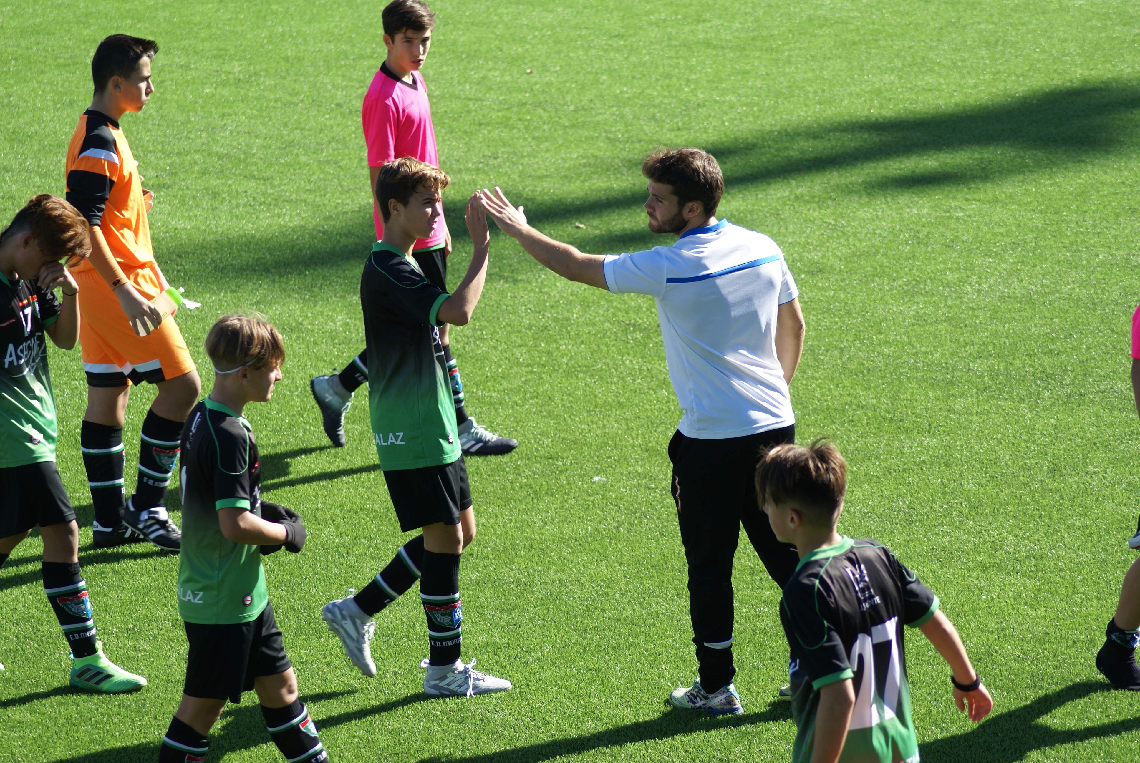 Fotos del partido Real Madrid 5-0 Infantil A